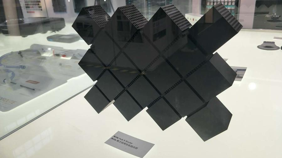 工业设计创新成果展:概念级高性能路由器