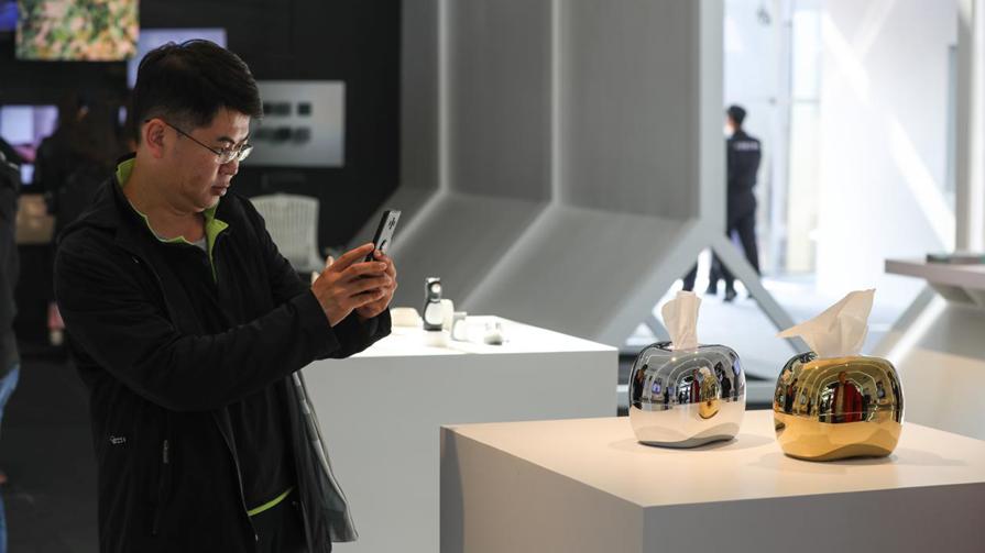 工业设计创新成果展:纸影灯