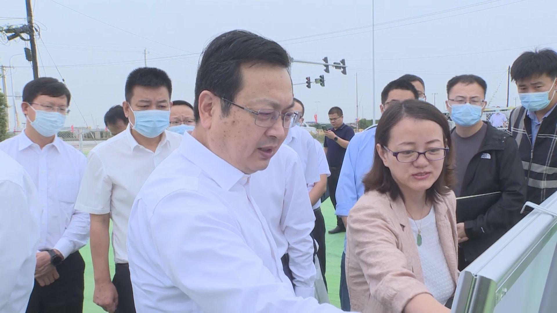 张国华调研雄安新区主要交通廊道沿线环境整治提升项目