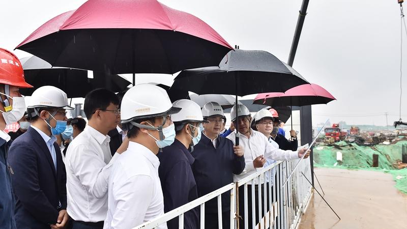时政播报丨张国华调研昝岗片区、雄东片区建设工作