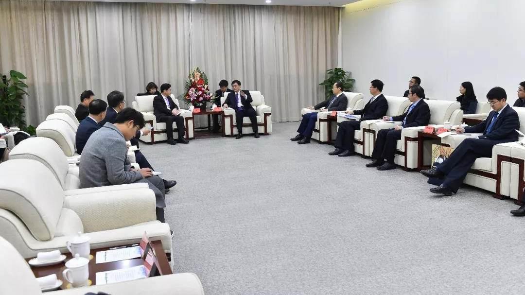 韩国世宗市政府代表团访问雄安新区