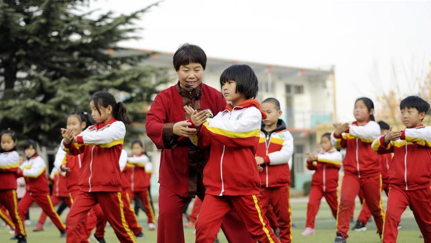 河北邢台:传统文化进校园