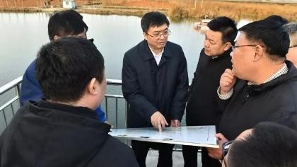 【视频】陈刚就白洋淀综合治理工作到安新县、雄县调研