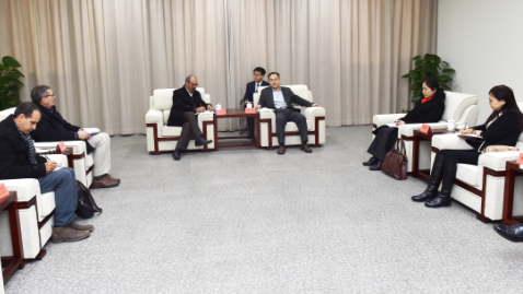 突尼斯人权联盟代表团访问雄安新区