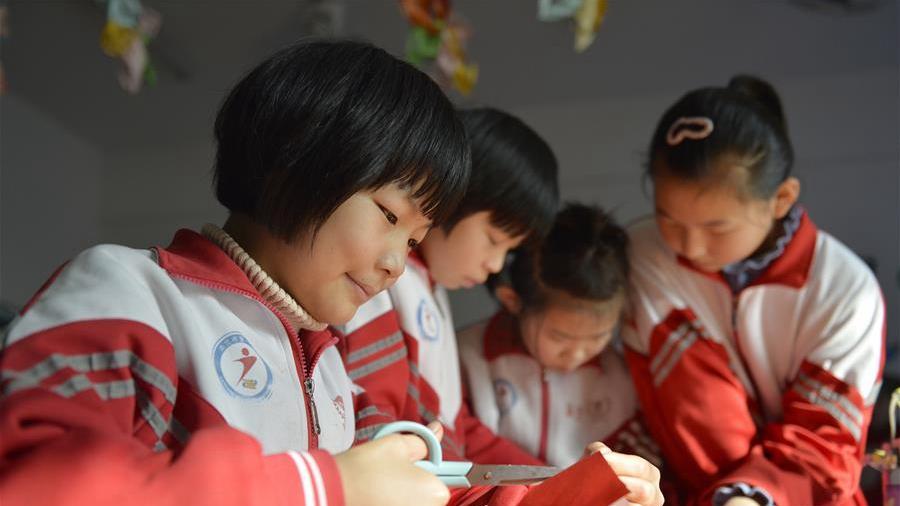 河北南宫:民间艺术进课堂