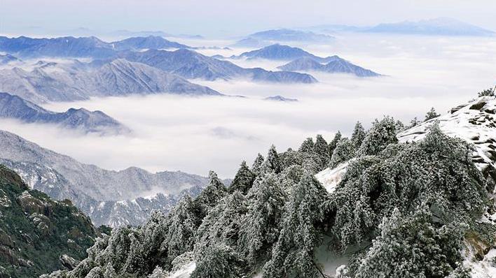 雪后黄山美