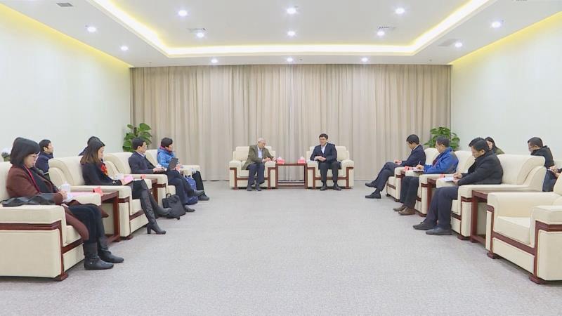 北京大学原校长、现代农学院院长许智宏到雄安新区考察