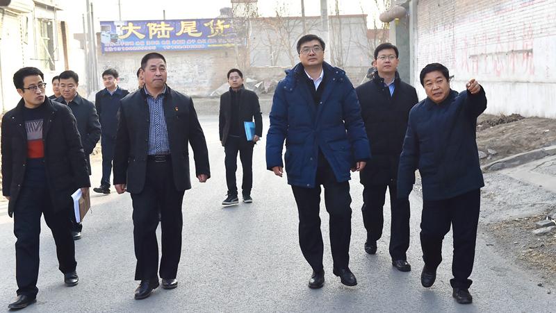 陈刚在容城调研时强调 持续抓管控保民生,为新区开工建设打好坚实基础
