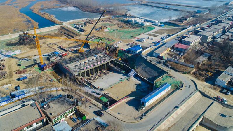 【视频】白洋淀引黄大树刘泵站工程将于2月1日正式向白洋淀补水