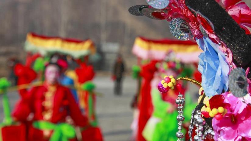 河北遵化:民俗节目排练忙