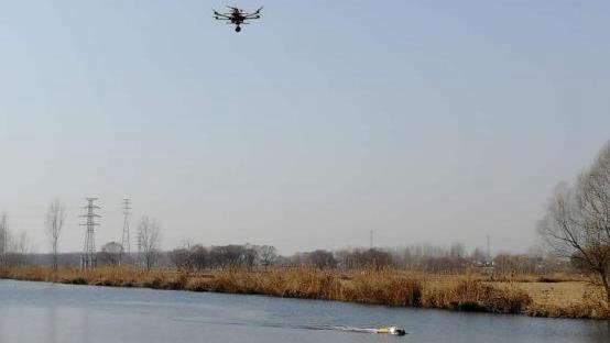 厉害了!雄安新区环境监测用上了5G,无人机、无人船实时回传数据