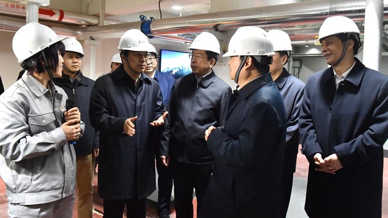 中国石化集团董事长戴厚良一行到雄安新区考察