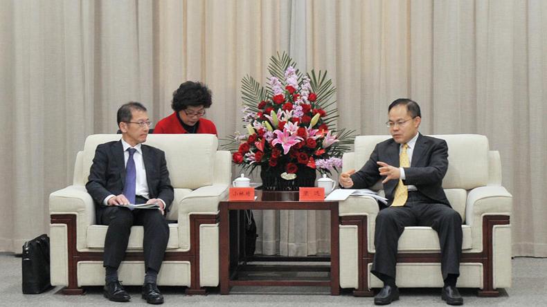 日本国土交通省住宅局审议官小林靖一行访问雄安新区