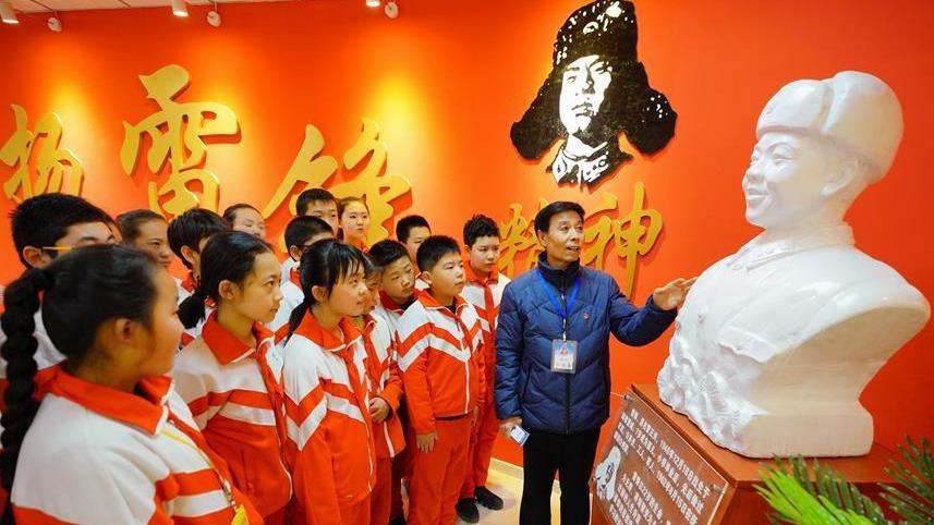 河北唐山:雷锋精神纪念馆传递社会正能量