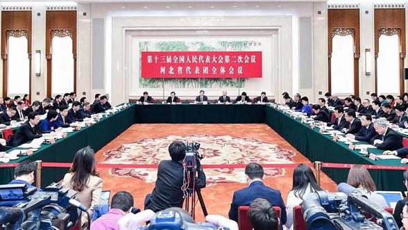 河北省代表团举行媒体开放日活动