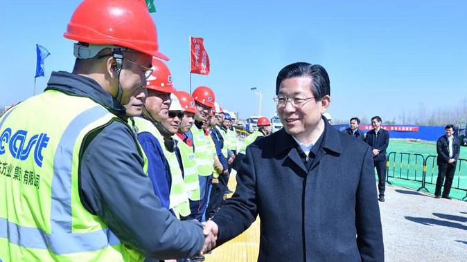 视频丨王东峰在雄安新区调研检查时强调 深入开展国土绿化行动着力治理和修复白洋淀生态环境