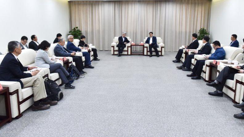 跨国公司代表团访问雄安新区