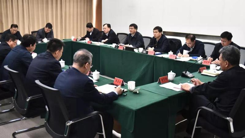 雄安新区召开三县领导干部座谈会 加强党的政治建设 为高标准建设雄安新区提供坚强政治保证