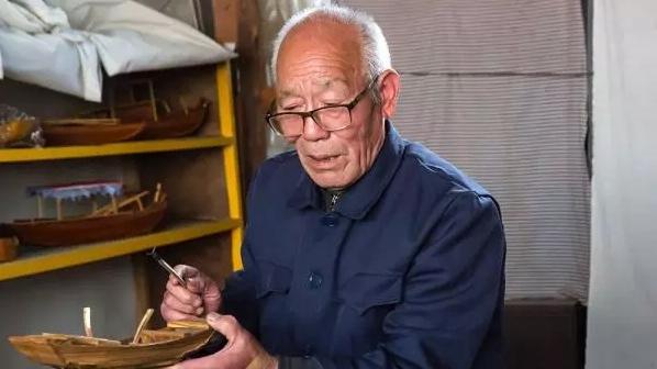 雄安81岁造船人:一辈子就爱这一行