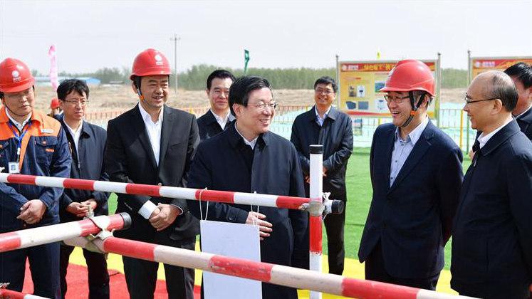 王东峰:扎实推进雄安新区重点基础设施建设