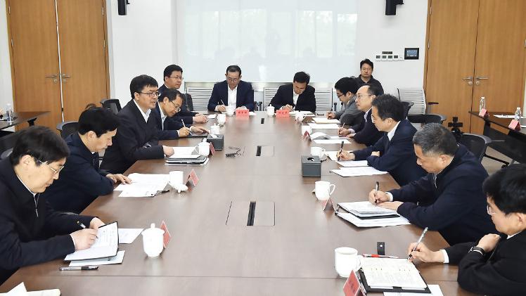 杭州市党政代表团到雄安新区考察