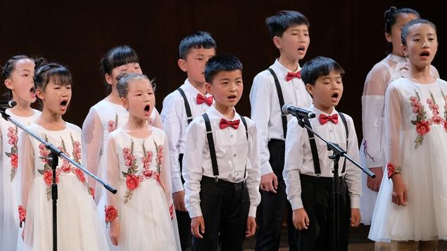 雄安最美童声在北京保利剧院唱响