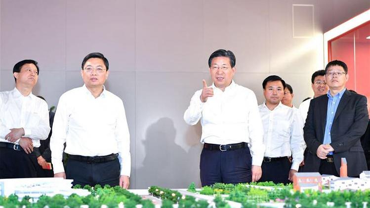南京市党政代表团到雄安新区考察