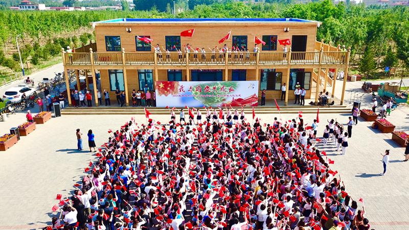 """迎""""六一""""丨我与雄安共成长!新区500多名师生家长参观""""千年秀林"""""""