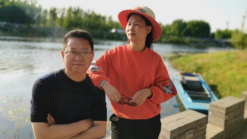 """雄安新区河西村驻村工作组里的""""最佳搭档"""""""