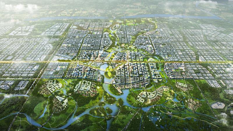 雄安新区:绘就蓝绿交织水城共融的生态画卷
