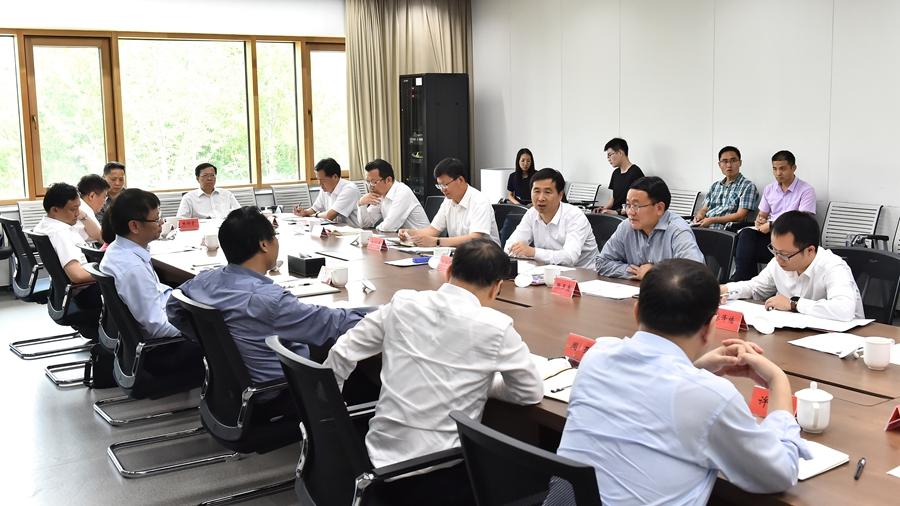 上海市副市长许昆林一行到雄安新区考察