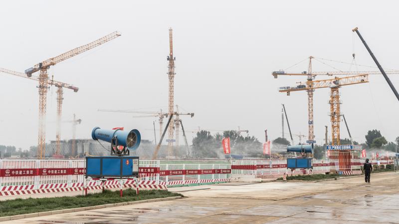 10个工地 20个问题 雄安新区多个建筑施工单位因扬尘污染问题被通报