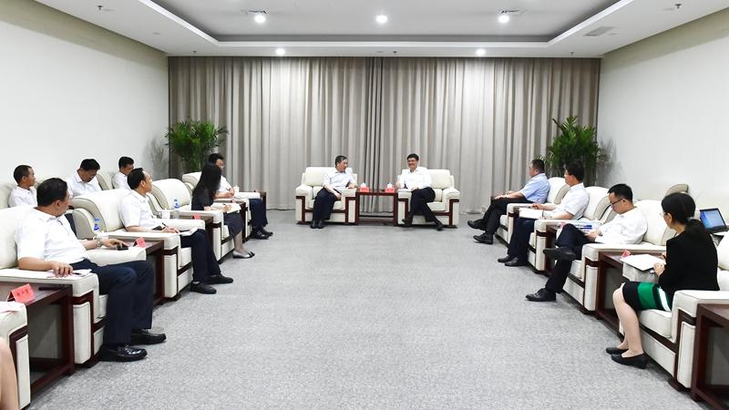吉林大学党委书记杨振斌一行到雄安新区考察