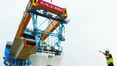京雄城际:修高铁如搭积木 预计2020年底使用