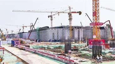 打造高质量发展的标杆工程——探访建设中的京雄城际铁路雄安高铁站