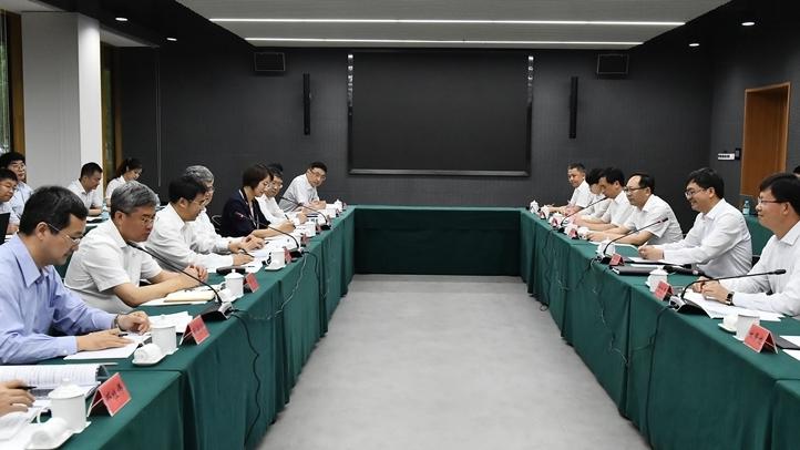 视频丨中国银行董事长刘连舸一行到雄安新区考察