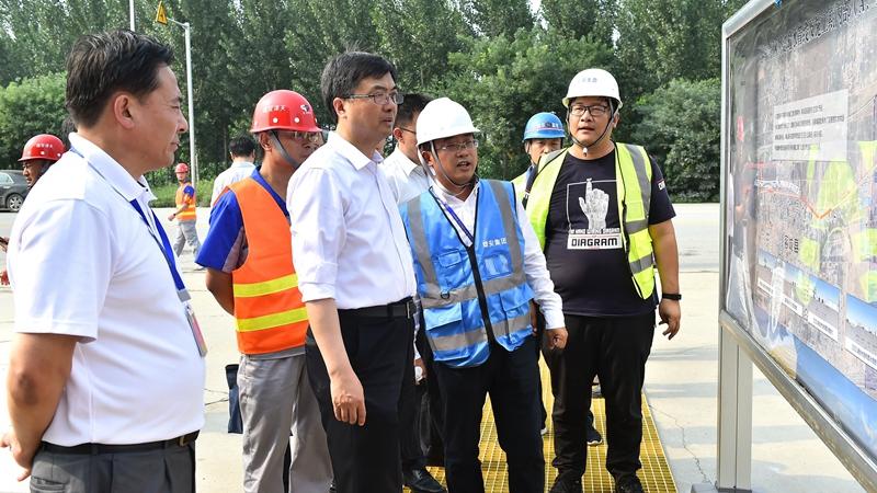 陈刚在调研重点项目建设和安全生产工作时强调 保质量抓安全提效率 有力有序有效推进重点项目建设