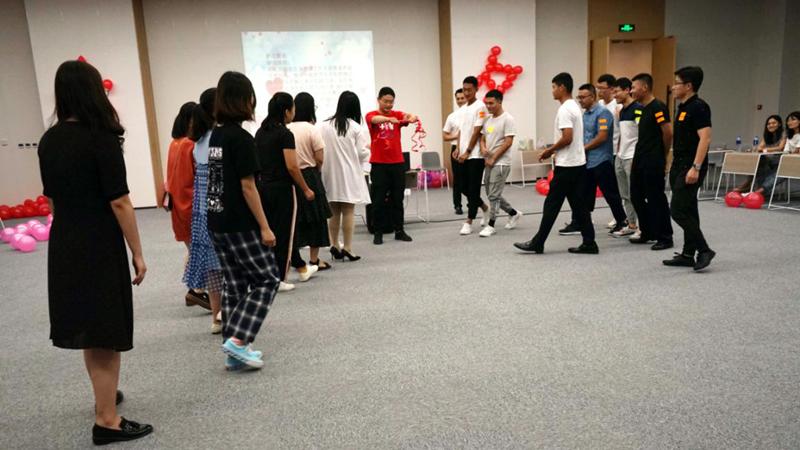 雄安新区综合执法局、土地储备中心联合举办七夕青年联谊会