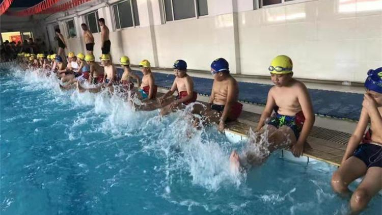 全国青少年体育冬夏令营(河北·安新站)开营