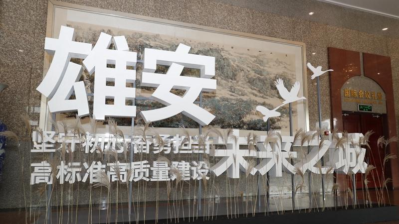 直击现场丨河北省政府新闻办雄安新区专场新闻发布会