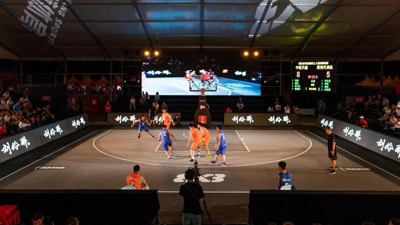 雄安企事业精英三人篮球挑战赛完赛 冠亚季军产生