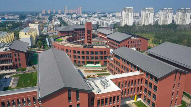 雄安新区首个永久性房建项目——雄县三中正式投入使用