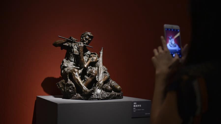 庆祝中华人民共和国成立70周年美术作品展在京开幕