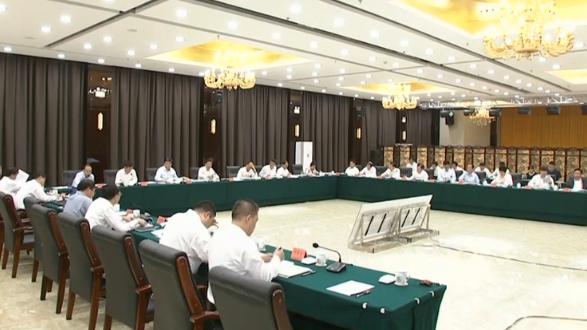 视频丨河北雄安新区规划建设工作领导小组专题会议召开