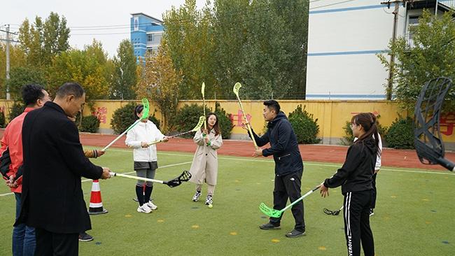 雄安新区容城县冰雪进校园体育教师培训活动举办