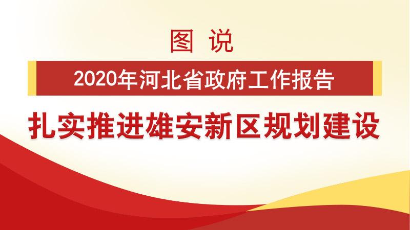 河北两会看雄安丨图说2020年河北省政府工作报告 扎实推进雄安新区规划建设