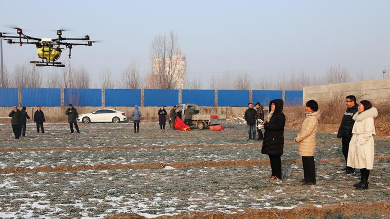 雄安新区开展无人机植保培训