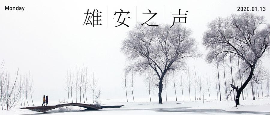 【雄安之声】20200113