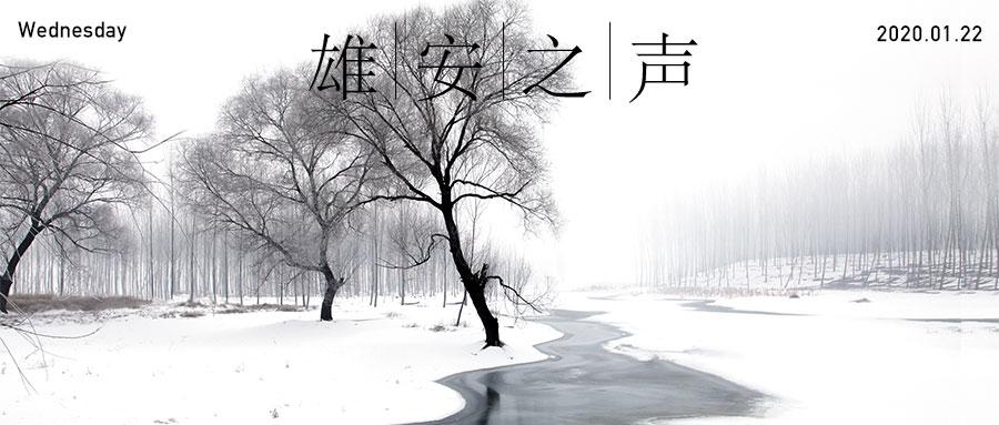 【雄安之声】20200122