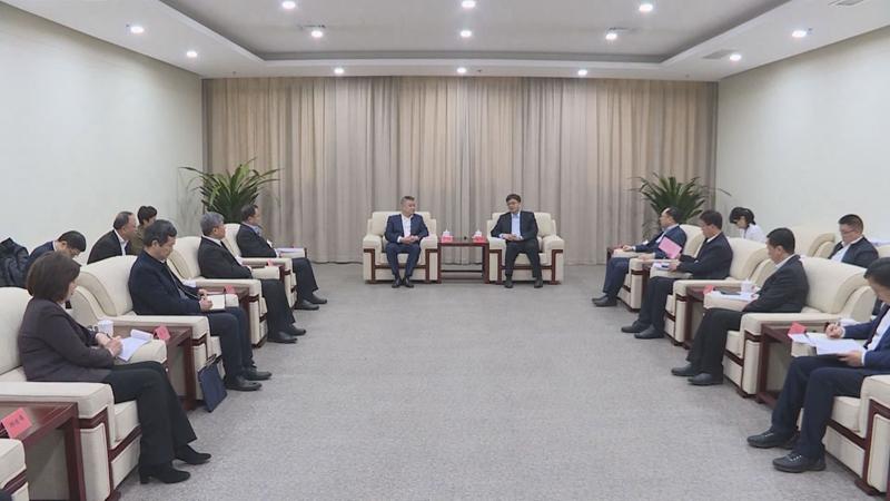 视频丨陈刚会见中国银行行长王江一行